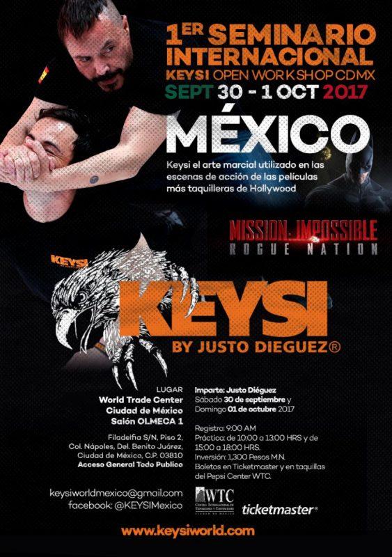 Keysi OPEN Workshop, Mexico