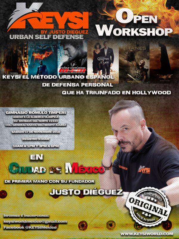 Open Workshop in Mexico City, Mexico @ Gimnasio Romulo Timperi | Ciudad de México | Ciudad de México | México