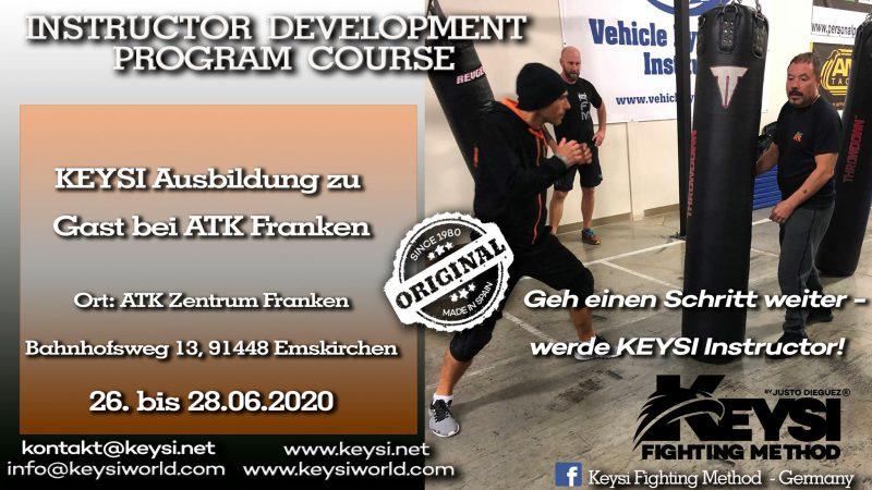 "Instructor Development Program Emskirchen Germany, June 2020 @ KEYSI at ""ATK Zentrum Franken"""