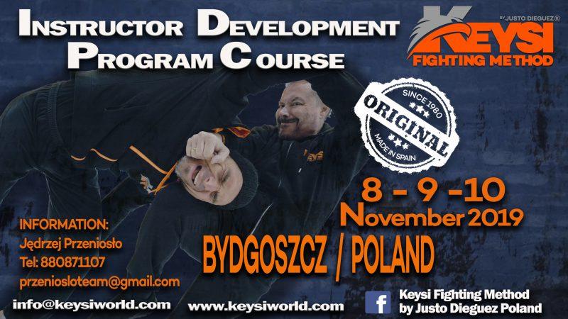Instructor Development Program Course and Open Workshop, Bydgoszcz – Poland, November 2019