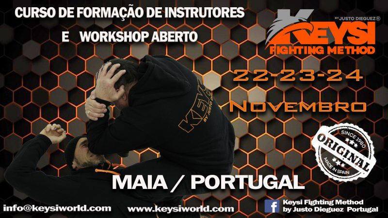 Instructor Development Program Course and Open Workshop, Maia – Portugal, November 2019