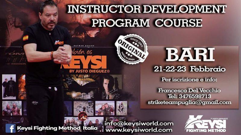 Instructor Development Program Course Bari / Italy - February 2020