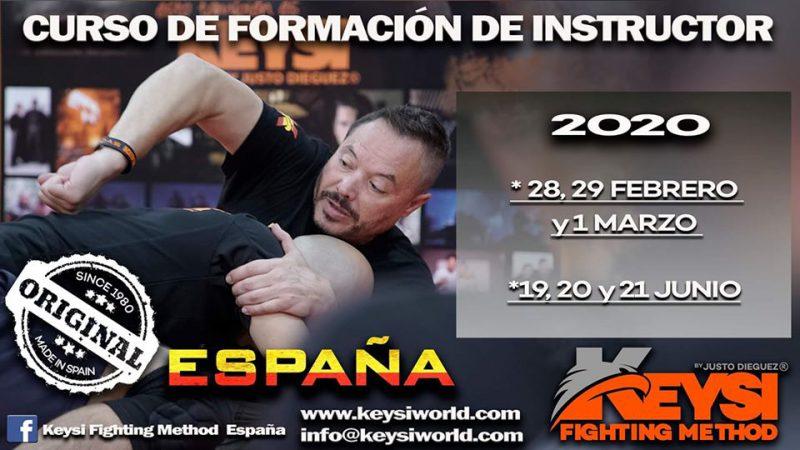 Instructor Development Program Course Spain - June 2020 @ Keysi Headquarter