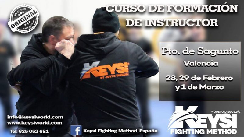 Instructor Development Program Course Spain - February 2020 @ Keysi Headquarter