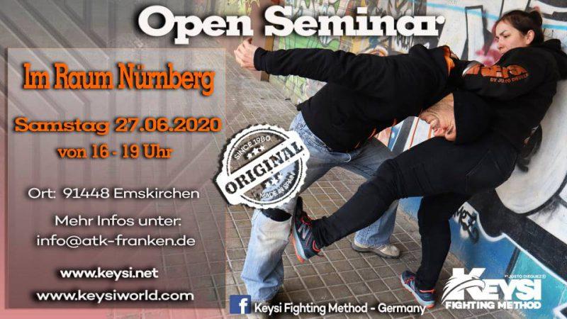 Open Seminar Emskirchen Germany, June 2020 @ ATK Franken